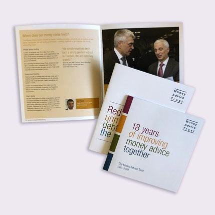 Corporate Brochures for Money Advice Trust