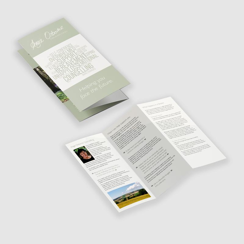 Angie Osborne leaflet