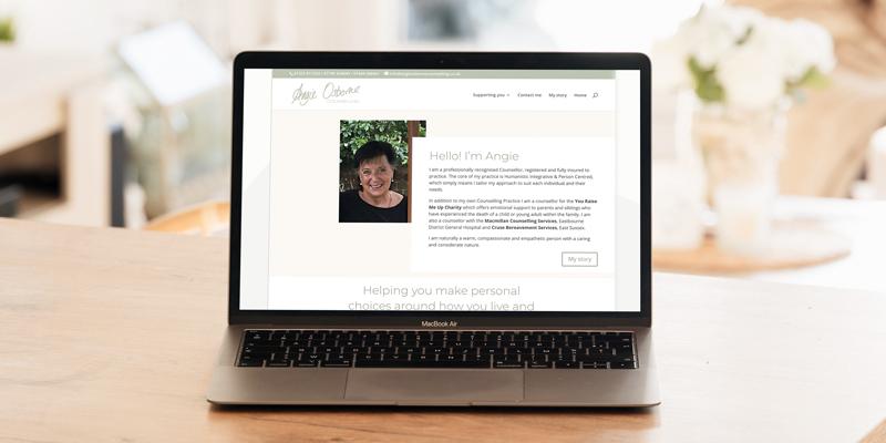 Angie Osborne Website
