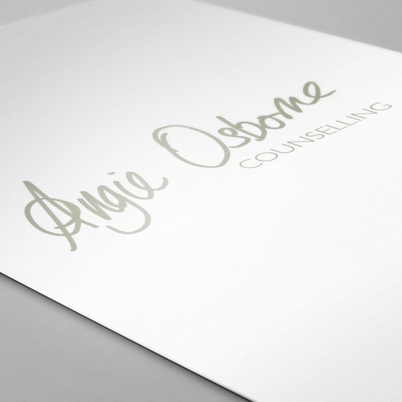 Angie Osborne Branding
