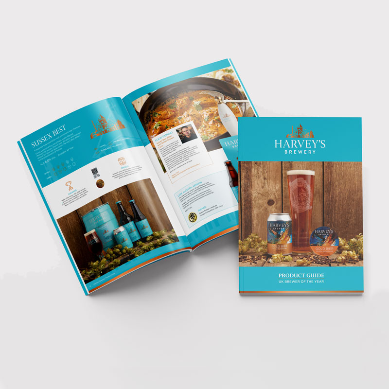 Harvey's Brewery Brochure