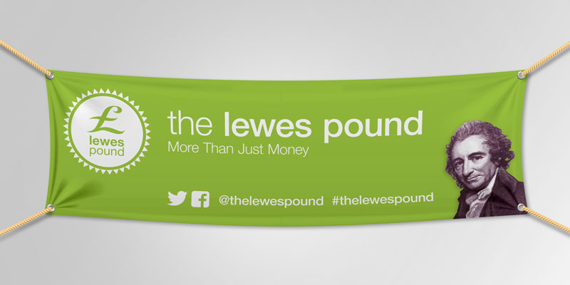 The Lewes Pound Vinyl Banners
