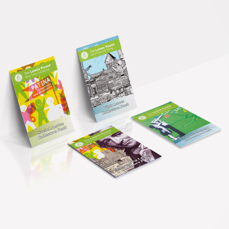 Lewes Pound Collectors Packs