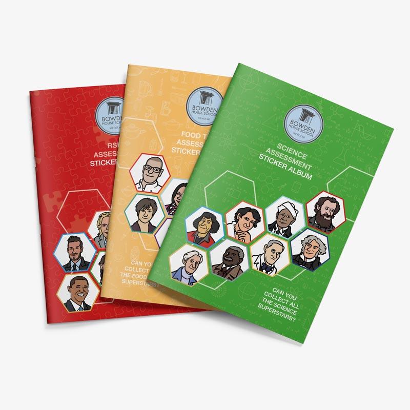 Bowden House School Sticker Books