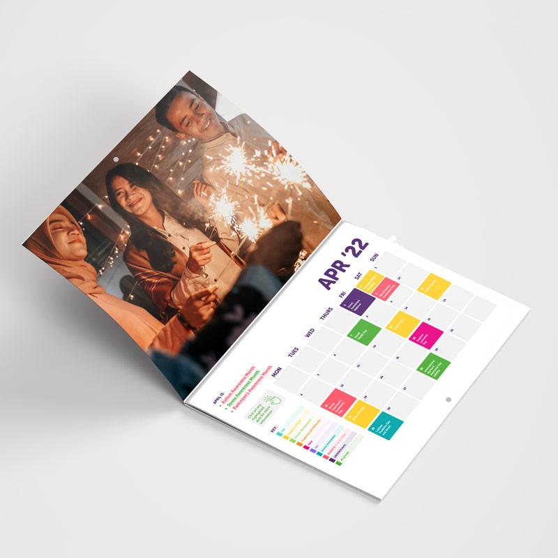 UNISON Interactive Calendar